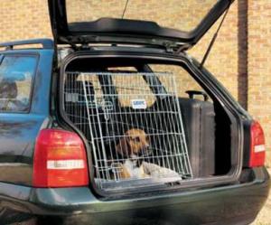 Hund i autobur